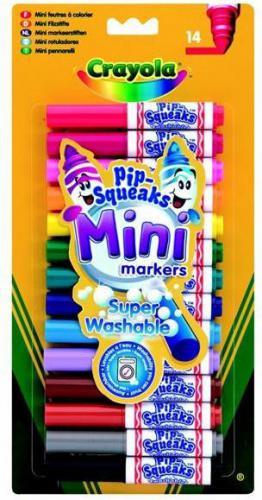 Crayola CRAYOLA Zest. mini markerów 14 kol - 8343