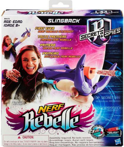 Hasbro Wyrzutnia Nerf Rebelle Slingback (B0472EU40)