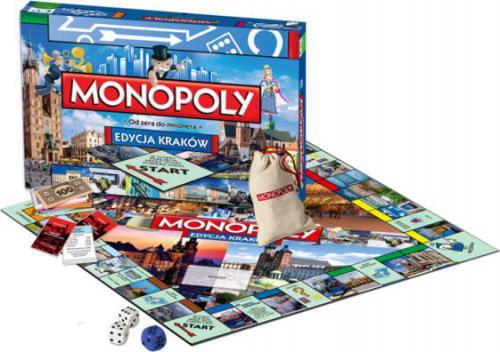 Hasbro Monopoly Kraków