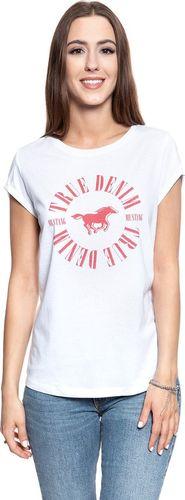 Mustang MUSTANG Printed T-Shirt general White 1007445 2045 XL
