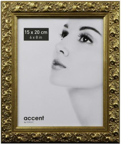 Ramka Nielsen Design Arabesque 15x20, drewaniana, złota (8517004)