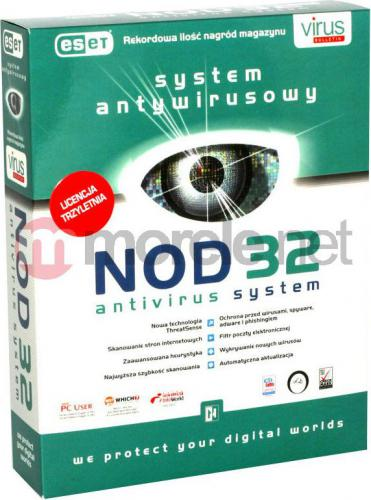 ESET NOD32 Antivirus 1 stanowisko 3 lata BOX (ENA-N-3Y-1D)