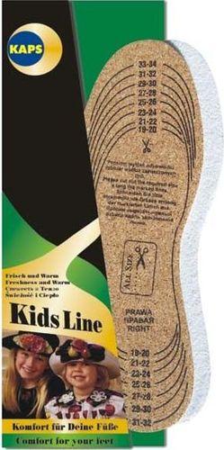 KAPS  Wkładki Korek Frotte dla Dzieci