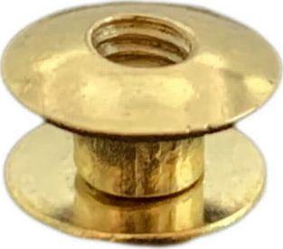 Kacperek Nity skręcane Śrubka 3,5mm Złoty
