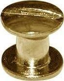 Kacperek Nity skręcane Śrubka 5mm Złoty