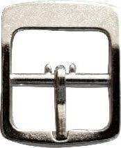 Kacperek Klamerka sprzączka 16mm szlufka Ciemny Nikiel