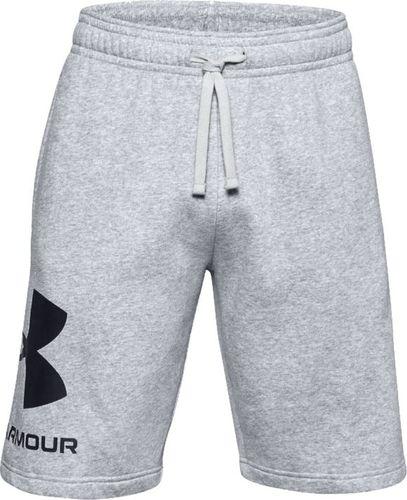 Under Armour Under Armour Rival Fleece Big Logo Shorts 1357118-011 szare L