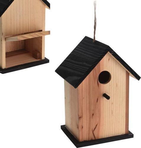 Vilde Budka LĘGOWA DLA PTAKÓW drewniana ozdobna domek