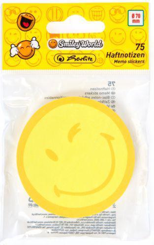 Herlitz Notes   Kolo, 75 kartek, żółty  (0011369618)