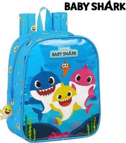 Baby Shark Plecak dziecięcy Baby Shark Jasnoniebieski