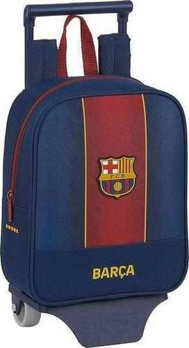 FC Barcelona Torba szkolna z kółkami 805 F.C. Barcelona 20/21 Kasztanowy Granatowy