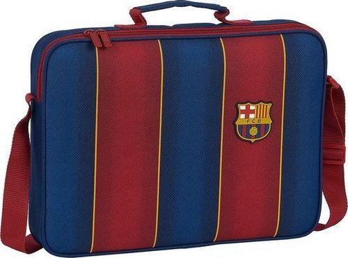 FC Barcelona Aktówka F.C. Barcelona 20/21 Kasztanowy Granatowy (6 L)