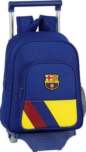 FC Barcelona Torba szkolna z kółkami 705 F.C. Barcelona Niebieski