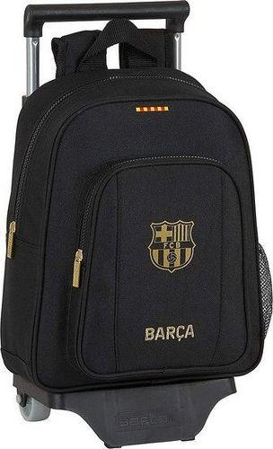 FC Barcelona Torba szkolna z kółkami 705 F.C. Barcelona 20/21 Czarny