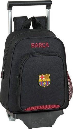 FC Barcelona Torba szkolna z kółkami 705 F.C. Barcelona Czarny