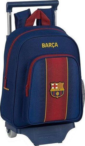 FC Barcelona Torba szkolna z kółkami 705 F.C. Barcelona 20/21 Kasztanowy Granatowy