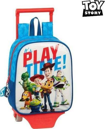 Toy story Torba szkolna z kółkami 805 Toy Story Play Time Niebieski Biały