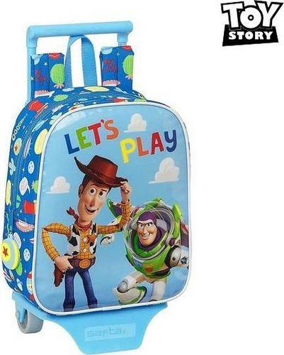 Toy story Torba szkolna z kółkami 805 Toy Story Let's Play Niebieski
