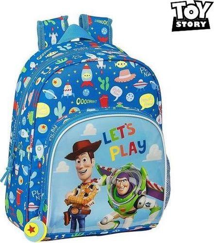 Toy story Plecak dziecięcy Toy Story Let's Play Niebieski