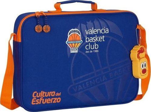 Valencia Basket Aktówka Valencia Basket Niebieski Pomarańczowy (6 L)