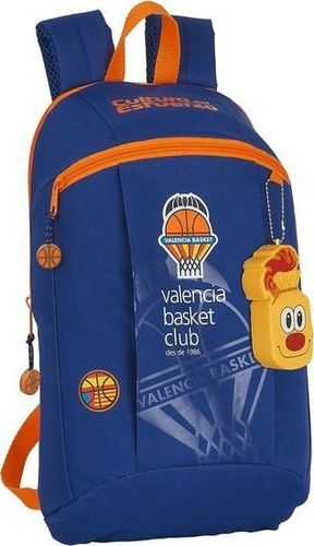 Valencia Basket Plecak dziecięcy Valencia Basket Niebieski Pomarańczowy