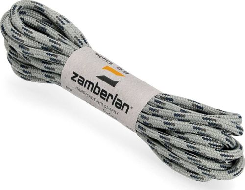 Zamberlan Sznurowadła Zamberlan Round Lace - grey/black 205 cm