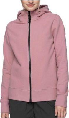 4f 4F Women's Sweatshirt HOL21-BLD602D-53S różowe S