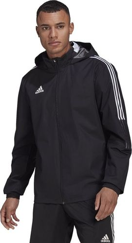 Adidas Kurtka adidas TIRO 21 AllWeather GH4466 GH4466 czarny XXXL