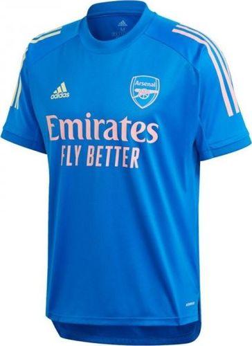 Adidas Koszulka piłkarska Arsenal FC Training Jersey FQ6187 niebieska r. XL