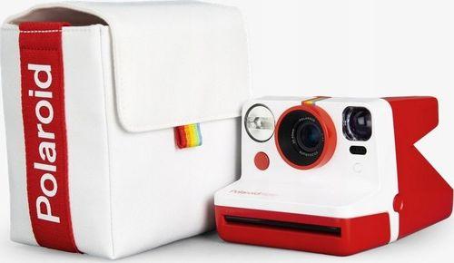 Pokrowiec Polaroid Polaroid Bag Now white-red