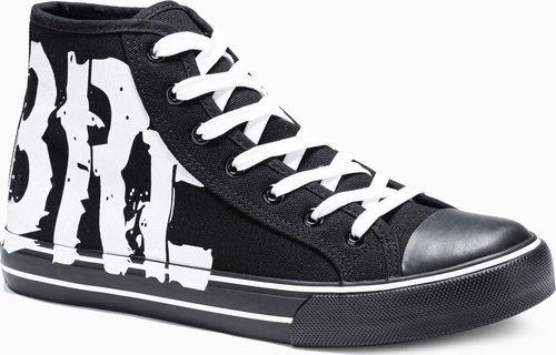 Ombre Trampki męskie sneakersy T365 - czarne 40