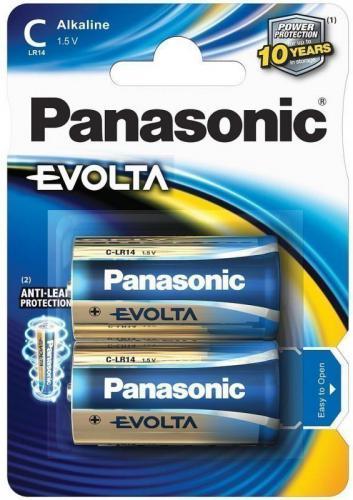 Panasonic 2szt. Evolta Baby C LR 14 (LR14EGE/2BP)