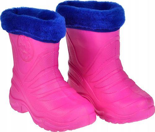 KALOSZE botki pantofle DZIECIĘCE z wkładką R. 28