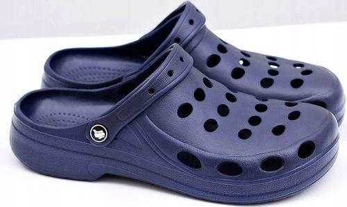 Buty klapki męskie gumowe lekkie z EVA r. 43