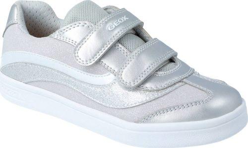 Geox Półbuty sneakers dziewczęce GEOX J154MC srebrny 28
