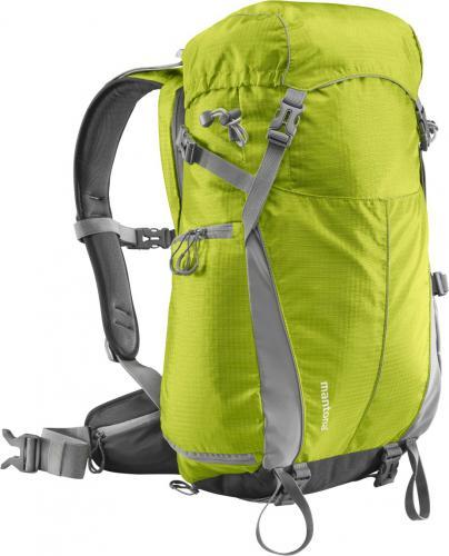 Plecak Mantona + torba jasno zielona (20779)