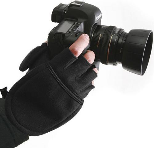 Kaiser Zimowe rękawiczki do fotografii L czarne (6372)
