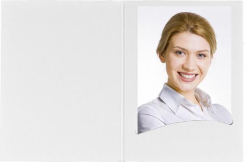 Daiber Etui paszportowe Profi-Line, biały, 7x10cm, 100szt. (14031)