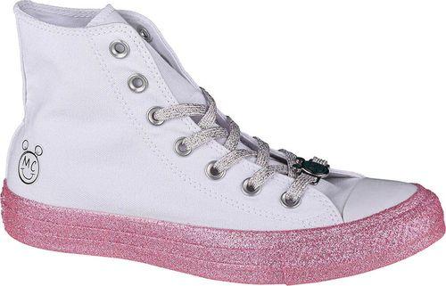 Converse Converse X Miley Cyrus Chuck Taylor Hi All Star 162239C białe 37