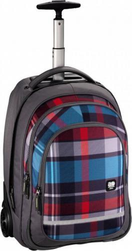 All Out Plecak szkolny na kółkach Bolton woody grey