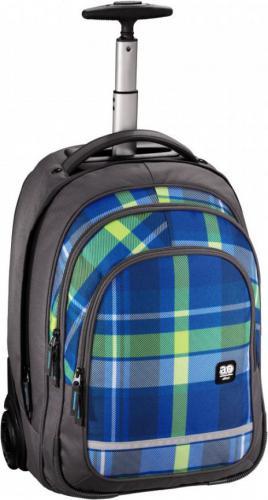 All Out plecak szkolny na kółkach BOLTON woody blue  001383130000