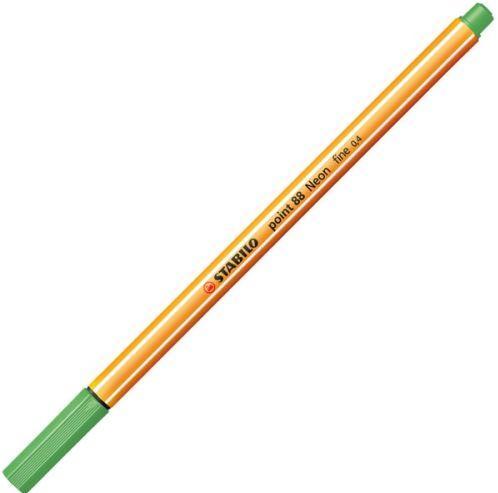 Stabilo Cienkopis Point 0.4mm, Zielony Neon (88/033)