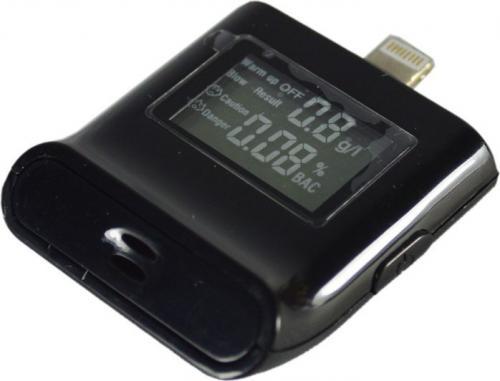 Alkomat REMAX dla iPhone 5/5S/6 czarny