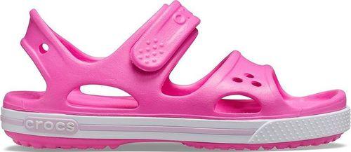 Crocs Crocs Preschool Crocband II Sandall Kids 14854-6QQ różowe 23/24