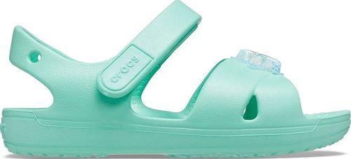 Crocs Crocs Classic Cross-Strap Charm Sandal 206947-3U3 zielone 20/21