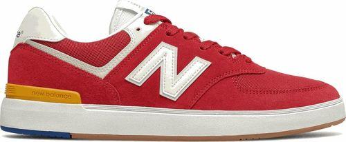 New Balance Sneakersy męskie New Balance AM574RWY czerwień 42