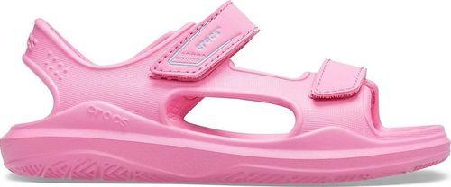 Crocs Crocs sandały dla dzieci Swiftwater Expedition różowe 206267 6M3 38-39