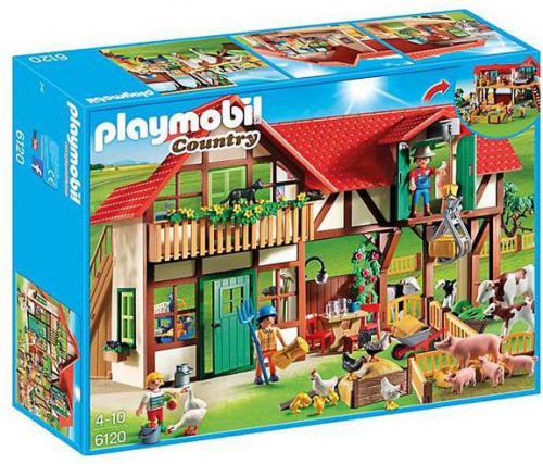 Playmobil Duże gospodarstwo rolne  - (6120)