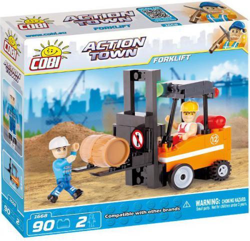 Cobi Klocki Action Town Wózek widłowy (CO-1668)