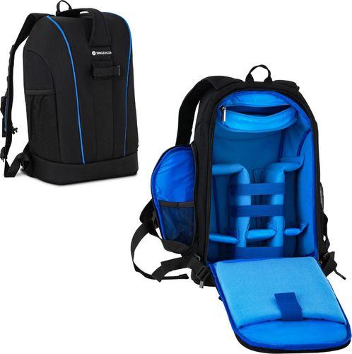 Plecak SINGERCON Plecak Fotograficzny Na 1 Aparat 5 Obiektywów Akcesoria Do 30 Kg